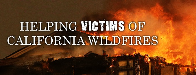Helping Victims of California Wildfires